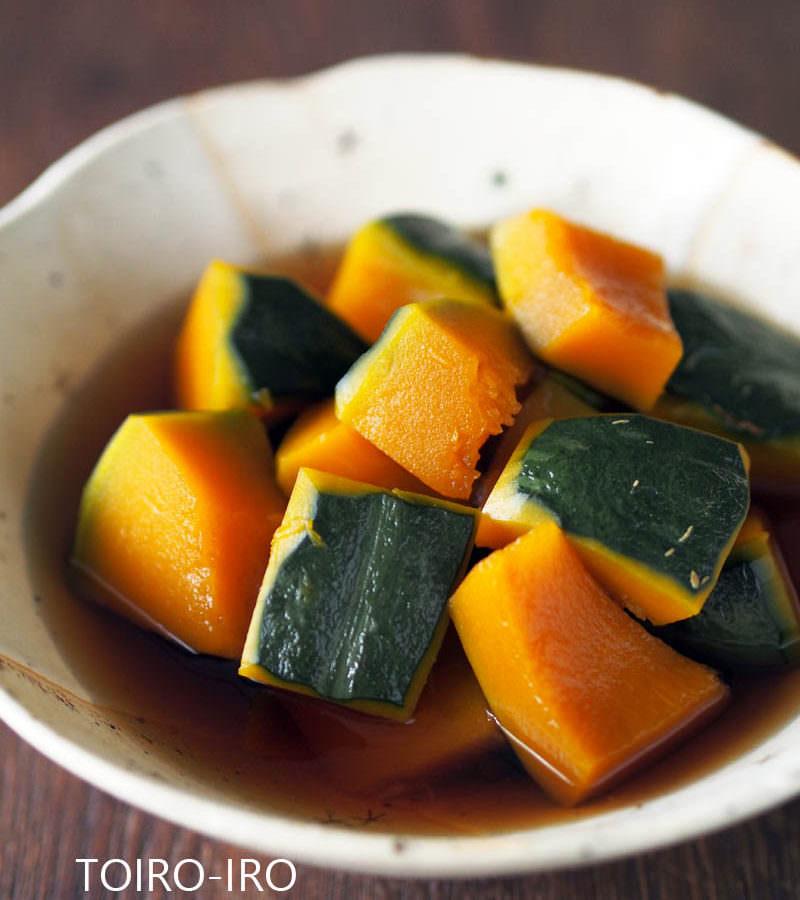 かぼちゃ の 煮物 レンジ