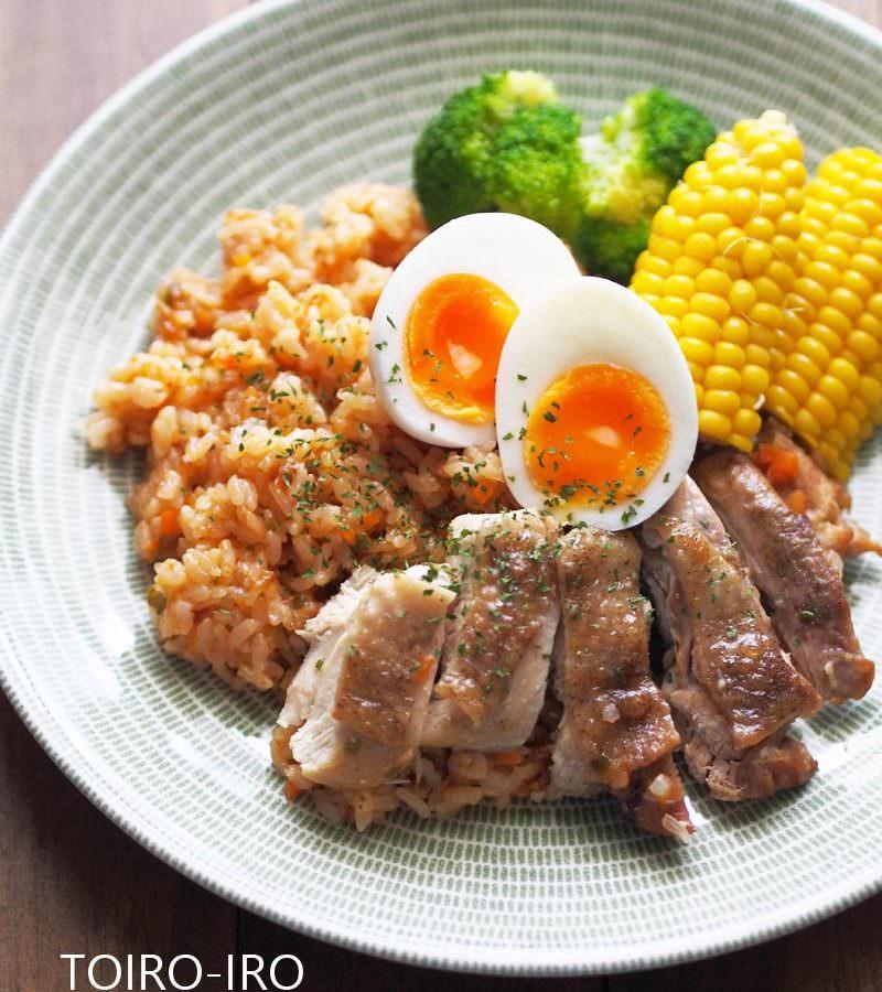 炊飯 鳥 器 もも肉