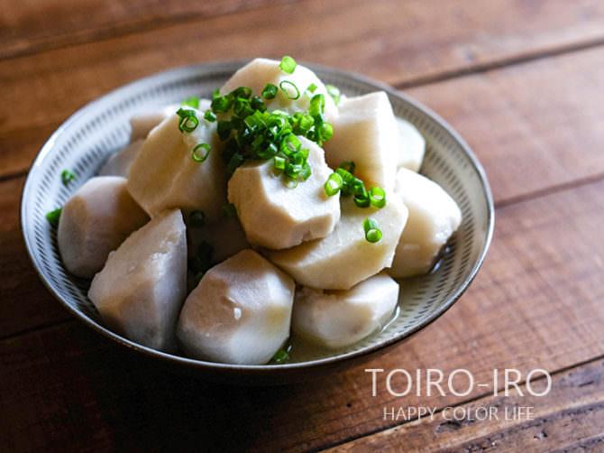白だしで作るシンプルな里芋の煮物