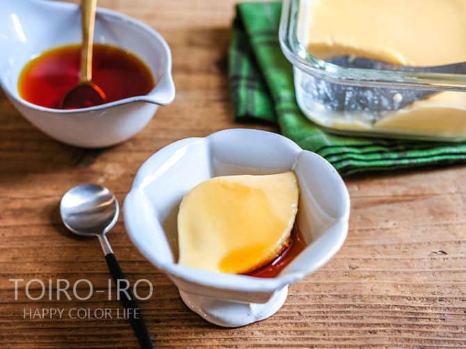 レンジ プリン 絶品!とろとろ生カスタードプリンの簡単レシピ。ゼラチンと全卵でなめらかとろける作り方。